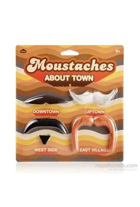 Parti Bıyık Seti - Kasaba Bıyıkları - Moustaches About Town