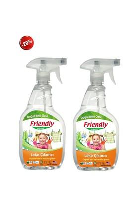 Friendly Organic Detaylı Leke Çıkarıcı Ve Koku Giderici 2 Adet 650 Ml