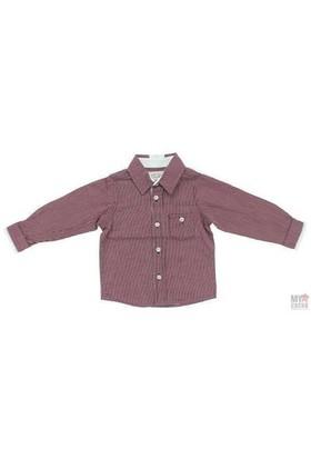 Modakids Nanica Erkek Çocuk Putikare Uzunkol Gömlek (1-3 Yaş) 001-5419-007