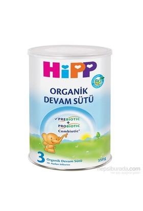 Hipp 3 Organik Prebiyotik, Probiyotik, Combiotic Devam Sütü 350 gr - 12'li
