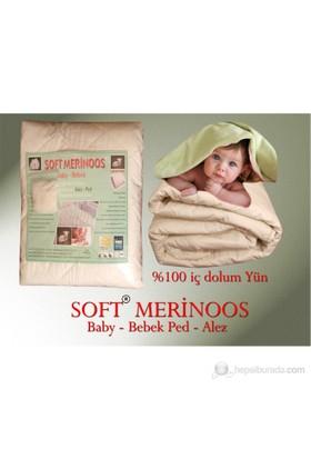 SoftMerinos Yün Bebek Yatak Alez Ped