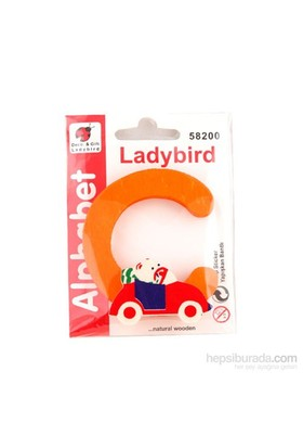 Lady Bird Dekoratif Harf C