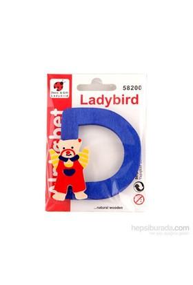 Lady Bird Dekoratif Harf D