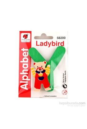 Lady Bird Dekoratif Harf Y