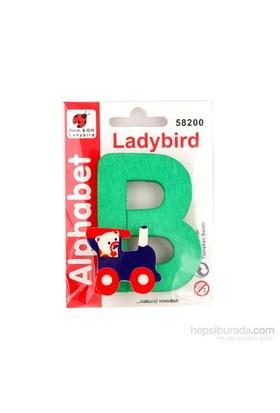Lady Bird Dekoratif Harf B