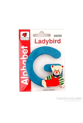 Lady Bird Dekoratif Harf G