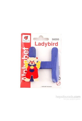 Lady Bird Dekoratif Harf H