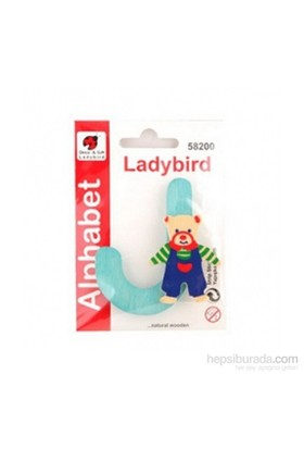 Lady Bird Dekoratif Harf J