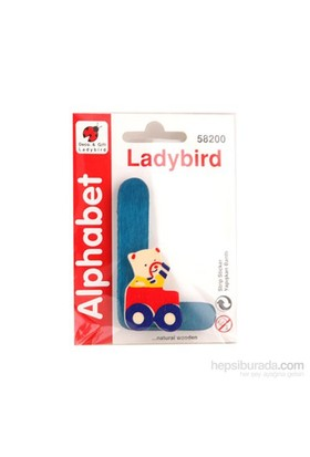 Lady Bird Dekoratif Harf L