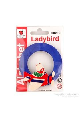 Lady Bird Dekoratif Harf O