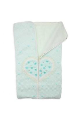 Modakids Donino Baby Kız Bebek İncili Triko Battaniye 019-1021-040