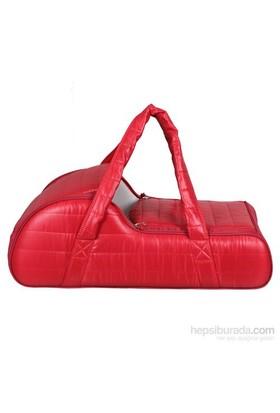 Lullaby 163 Puflu Klasik Portbebe Kırmızı
