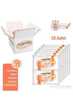 Fresh'n Soft Pişik Önleyici Havlu 12'Li Fırsat Paketi / 480 Yaprak