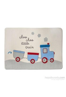 Funna Baby Train Bebek Odası Halısı 100X150 Cm