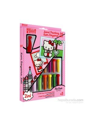 Red Castle Disney İkili Kum Boyama Seti Hello Kitty