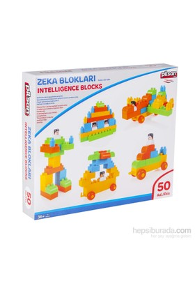 Pilsan Zeka Blokları Kutu 50 Parça