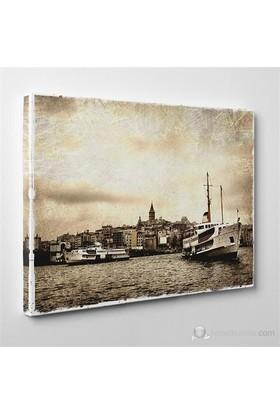 Tabloshop - Galata Canvas Tablo - 75X50cm