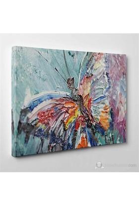 Tabloshop - Butterfly V Canvas Tablo - 75X50cm