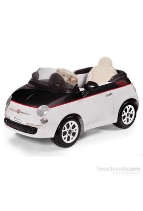 Peg Perego Akülü Araba Fiat 500 12V Siyah Beyaz