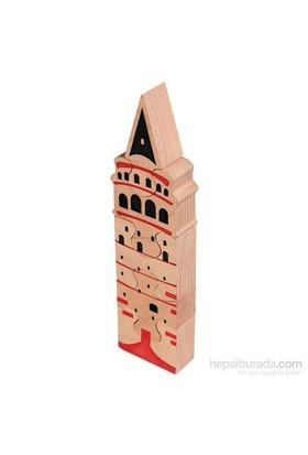 Neva Toys Puzzle Serisi - Galata Kulesi