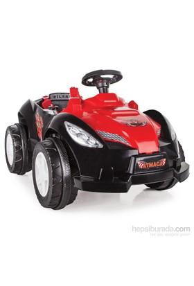 Pilsan Atmaca Akülü Araba 6 Volt Siyah/Kırmızı