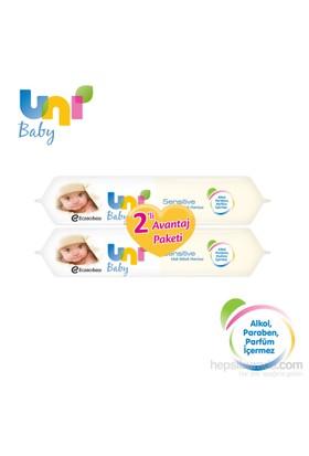 Uni Baby Sensitive Islak Havlu 56'lı / 2 Adet