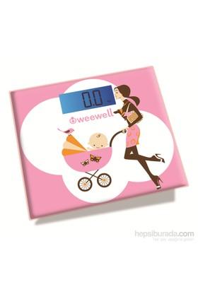 Weewell WWD722 Dijital Anne & Bebek Tartısı