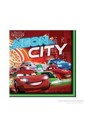 Sunman Peçete Cars Neon 20Li Cars