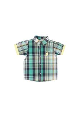 Modakids Nanica Erkek Çocuk Ekose Kısa Kol Gömlek (1-3 Yaş) 0014962001