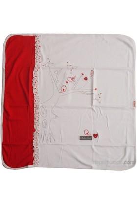 Bebiccino 2814 Penye Battaniye Kırmızı