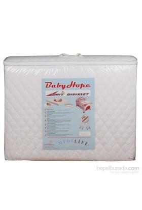 Alezli Babyhope Bebek Oyun Parkı Yatağı 70X110 Cm