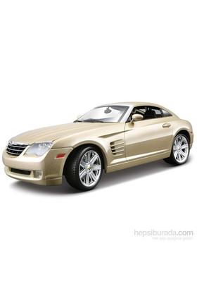 Maisto Chrysler Crossfire Diecast Model Araba 1:18 Model Araba Gold