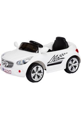 Baby2Go 6504 Akülü Araba - Beyaz
