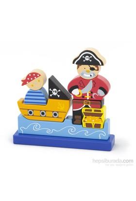 Vıga Toys 3D Puzzle Blok - Korsan