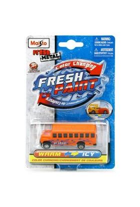 Maisto Metal Renk Değiştiren Araçlar School Bus