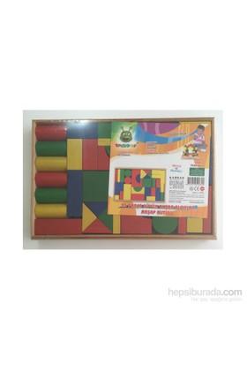Emre Toys 35 Parça Büyük Ahşap Bloklar