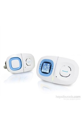 Weewell Dijital Titreşimli Bebek Telsizi - 300m- Interkom- LCD Ekran - Gece Işığı