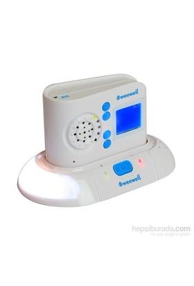 Weewell WMA600 Dijital Bebek Telsizi - 300 m - Hareket Algı Pedi - Şarjlı - Interkom - LCD Ekran - Gece Işığı - Ninni