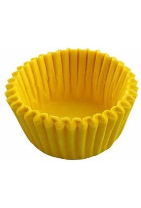 Pandoli 100 Lü Muffin Kek Kapsülü Sarı Renk