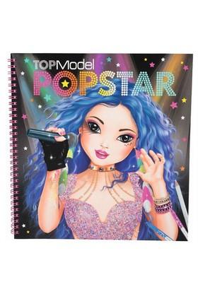 Top Model Popstar Boyama Kitabı 8493
