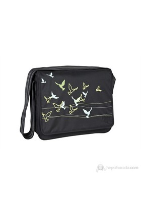 Lassig Casual Messenger Bakım Çantası / Flock Of Birds Black