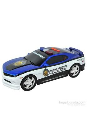 Road Rippers Protect Serve Sesli Işıklı Polis Aracı Camaro