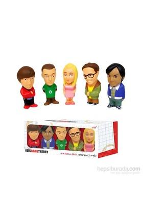 Big Bang Theory Stress Dolls Set Of 5 Stres Oyuncağı