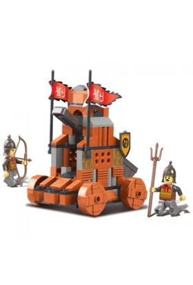 Sluban Yapboz Blok 131 Parça Red Cliff Catapult