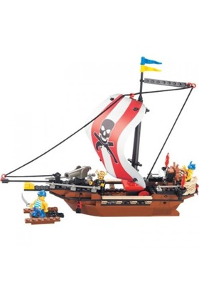 Sluban Yapboz Blok 226 Parça Fast Pirateship