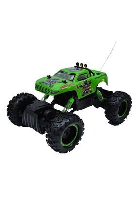 Om Rock Crawler Tümsekleri Aşan Dev Lastikli Jeep