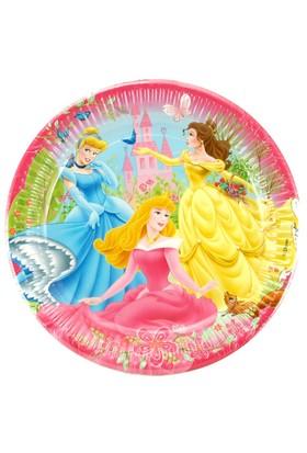 Disney Prenses Plastik Tabak 10 Adet