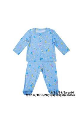 Zeyland Erkek Çocuk Mavi Desenli Pijama Takim K-42H1543