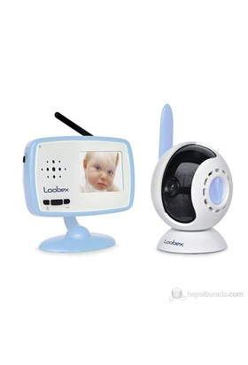 """Loobex Dijital Kameralı Bebek Telsizi (200 mt-2,4""""LCD Ekran-VOX-Çift Yönlü Konuşma-Şarj Edilebilir-Zoom-Ninni Melodi)"""