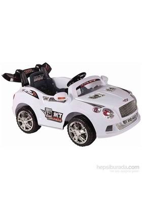 Babyhope A-022A Akülü Araba 12V (Beyaz)